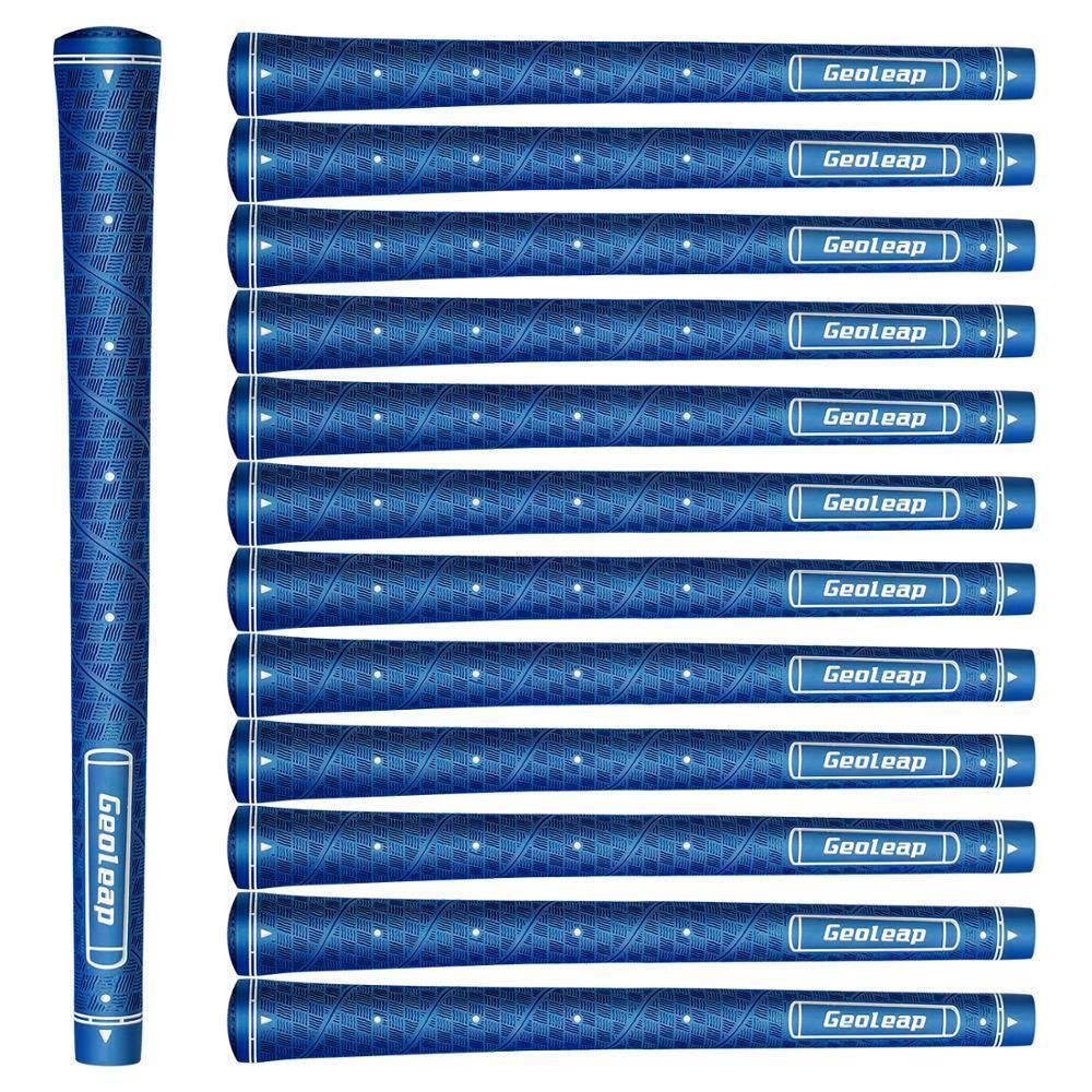 Geoleap Glory-M Rubber Golf Grips 10pcs / lot Point Point Assists, Golf Club Grips, Midsize, 7 colores para elegir, envío gratis 201029