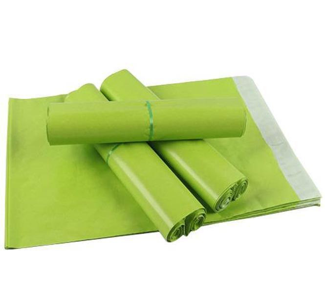 14 * 22cm Poly Courrier Envelope Courrier Vert Mail Sac d'expédition Postal Sac imperméable Sacs D'expédition Plastique Sacs d'envoi Rrtlm