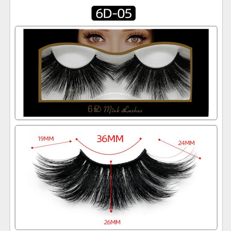 6D норка 25мм ресницы 100% Объем крест-накрест длинные волосы 3D 25 мм Ложные Ресницы ресницы Поддельные ресницы макияж Наращивание ресниц Инструменты