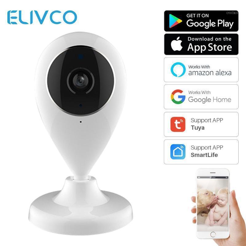 Câmeras Wifi IP Camera Sem Fio Inteligente Home Service de Segurança Smartlife APP Controle de dois sentidos Obras de áudio com Alexa Echo Google Home1