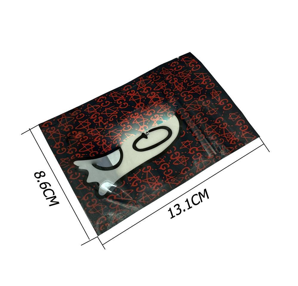 20P Galaxy Cookies Упаковка Майларные сумки для съедобных гамми Пакет Пакет для мальчиков Удача Удачи Ударное Пластиковое Детское доказательство SQCLSV Sports2010