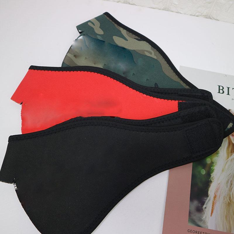 3 Maschera partito di stile con il logo antivento camuffamento stampa maschera antipolvere esterna che guida il caldo XD23324 maschera