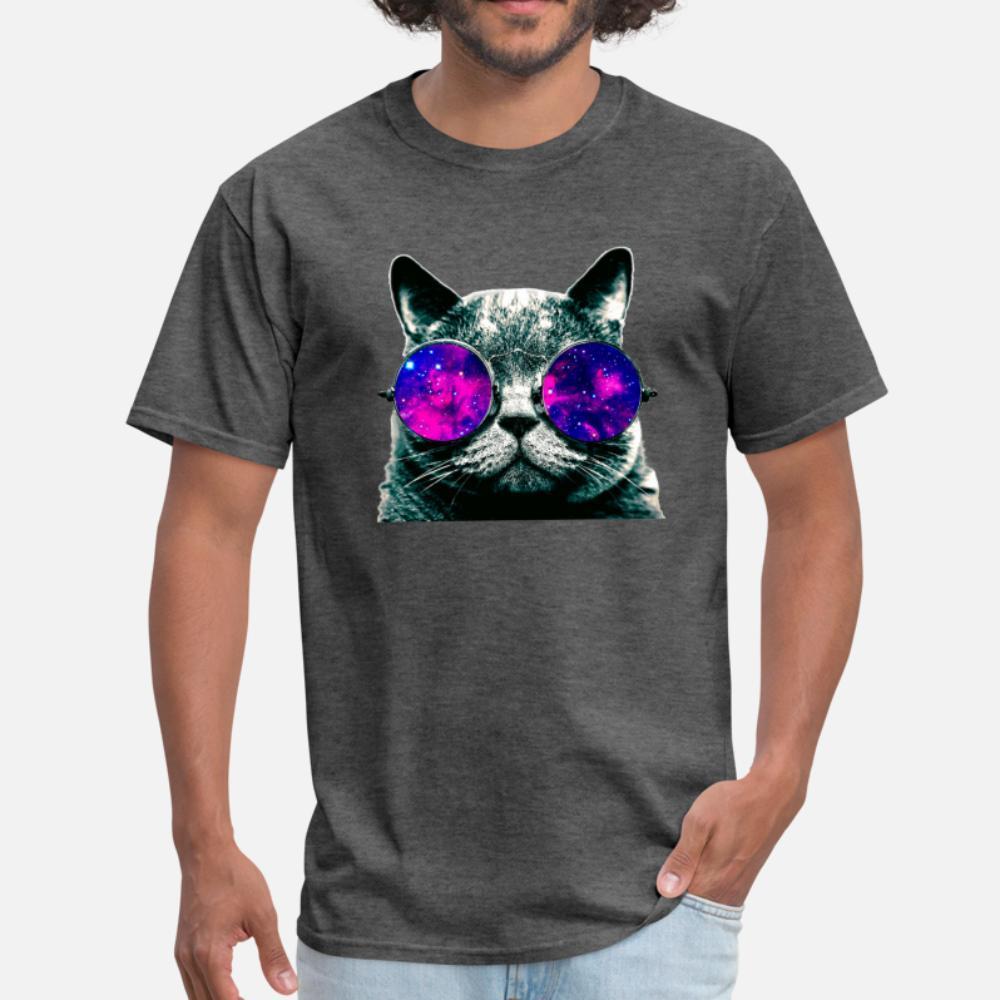 chat Space T-shirt ras du cou Populaire Les plus récents Survêtement Sweat-shirt à capuche