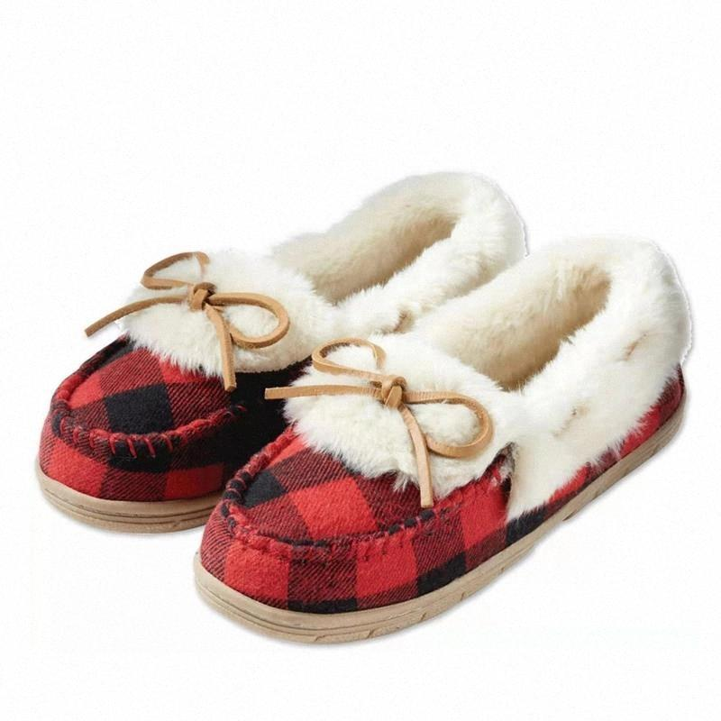 2020 chaussures femmes hiver chaud coton tissu espadirilles chaussures chaussures de matières décontractées glissent sur des appartements femmes chaussures en peluche mocassins dame # zk55