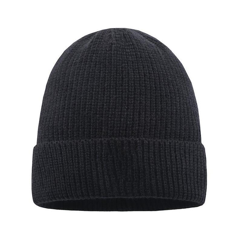 새로운 프랑스 패션 망 디자이너 모자 모자 겨울 비니 니트 양모 모자 플러스 모자 Skullies 두꺼운 마스크 프린지 비니 모자 남자