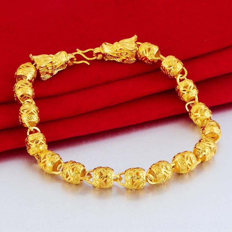 Духовые золотой браслет позолоченного двойного Bibcock фонарь с позолоченным Кроссом сек золота прочного и бесцветными мужчинами и женщинами браслетом моды евреем