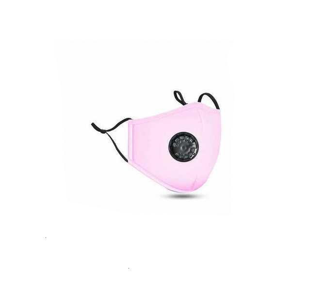 Coton d'usine Réutilisable PM2.5 Soupape respiratoire anti-poussière Masques à la poussière avec filtre de carbone Respirateur Radique Masque de visage réglable 3ABZPI