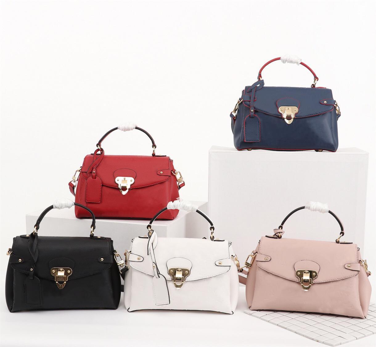 Hohe Qualität Modedesigner Luxus Handtaschen Geldbörsen Mittelalterliche Kleine Handtasche Frauen Marke Klassische Art Echtes Leder Umhängetaschen # LP998