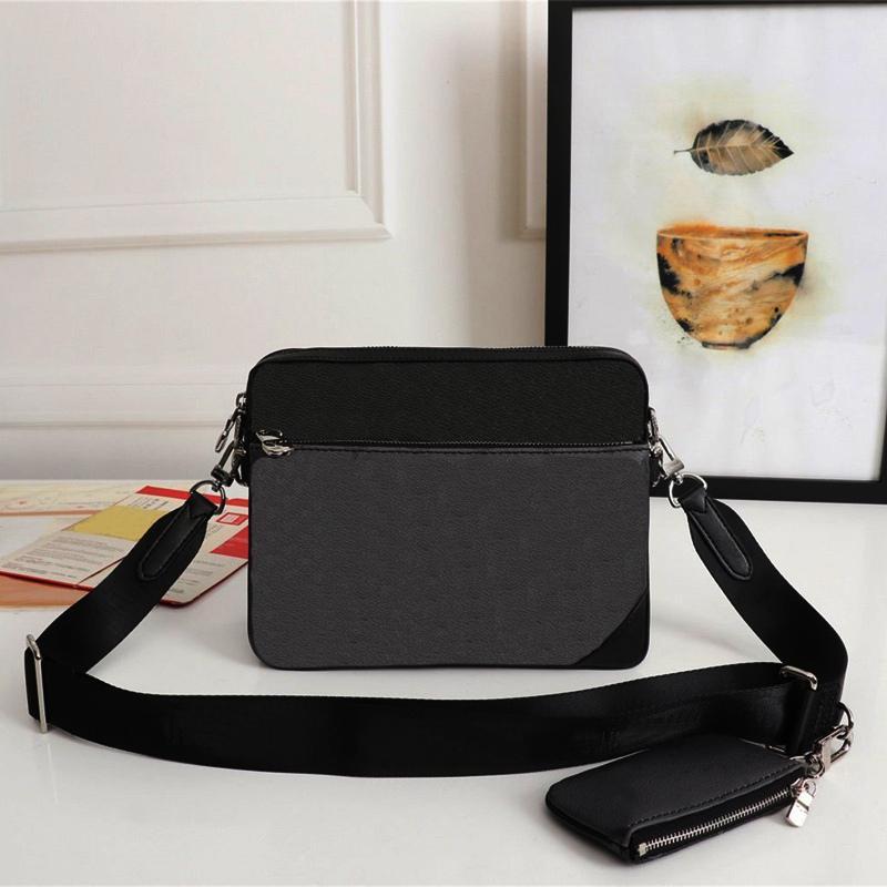 Nouveau sac à bandoulière Mode Messenger hommes Sacs pour hommes 3-en-1 Messenger Sacs à main Sacs à bandoulière sacs vintage embrayage