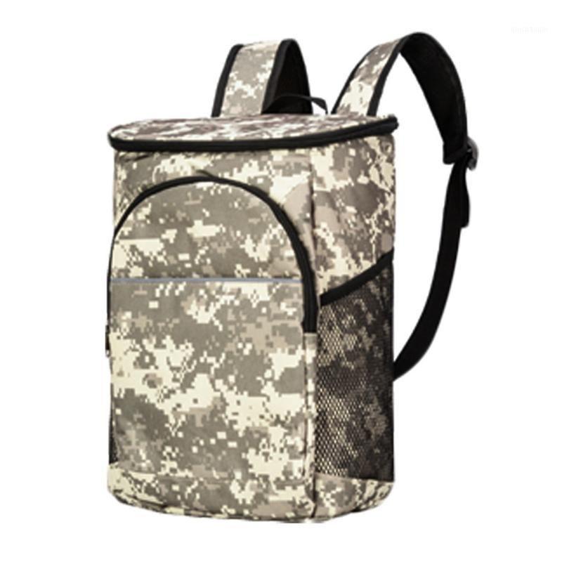 18L zíper camping ao ar livre caminhadas portador de pano de Oxford com piquenique piquenique mochila resistente a mochila resistente cooling1