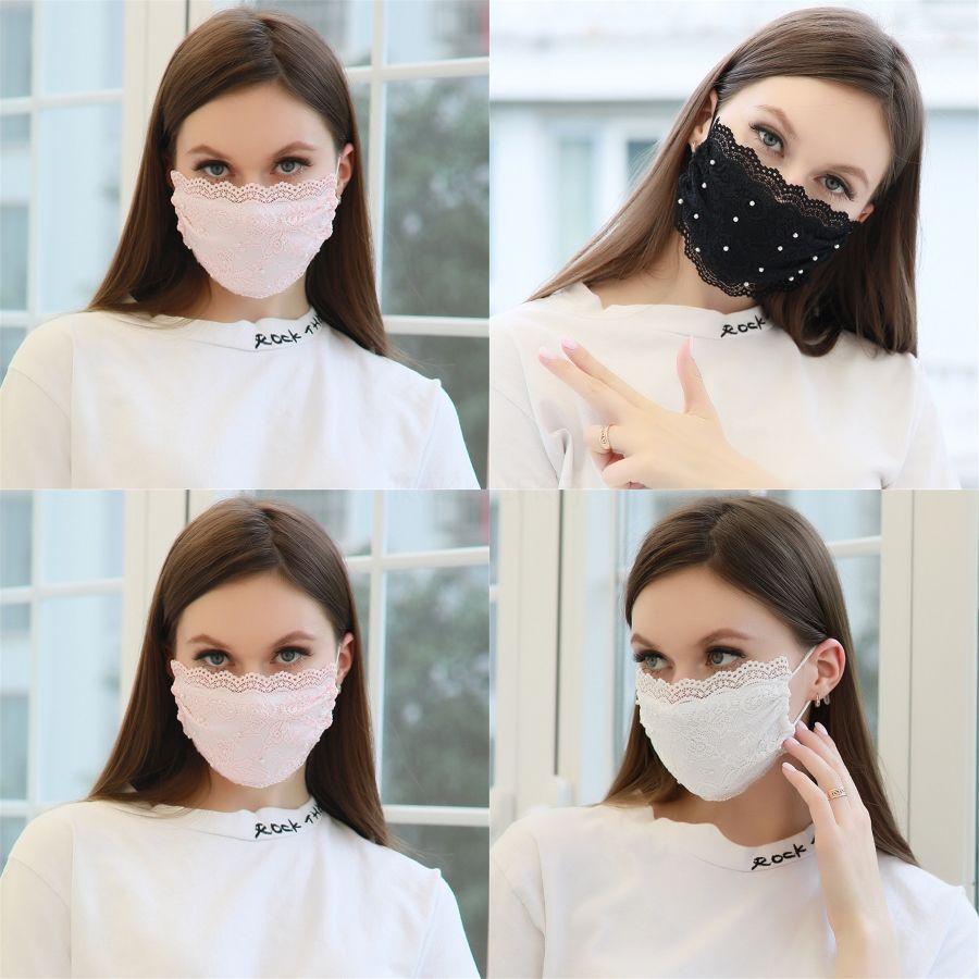 İpek Yüz Ağız Kapak Kadınlar Çiçek Baskılı Maske Açık Prection WashableMasks Parti Hediye # 826