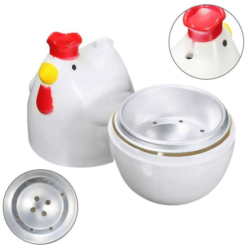 Chick-shaped 1 boiled egg steamer steamer pestle microwave egg cooker cooking tools kitchen gadgets accessories tools1