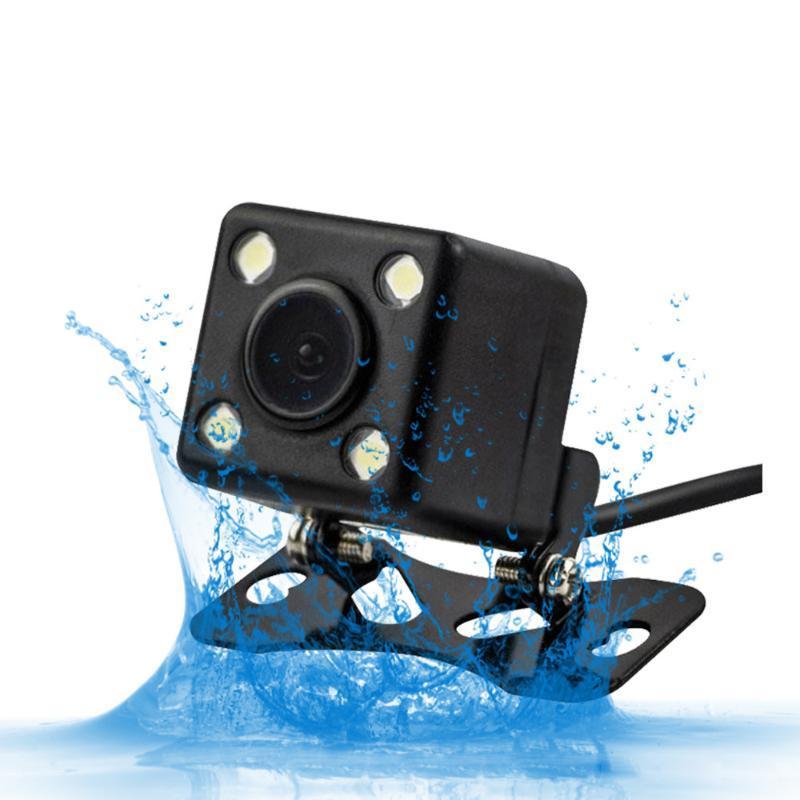 270 degrés voiture arrière voiture caméra hd annuelle caméra avec vision de nuit LED inversant IP67 imperméable vue arrière
