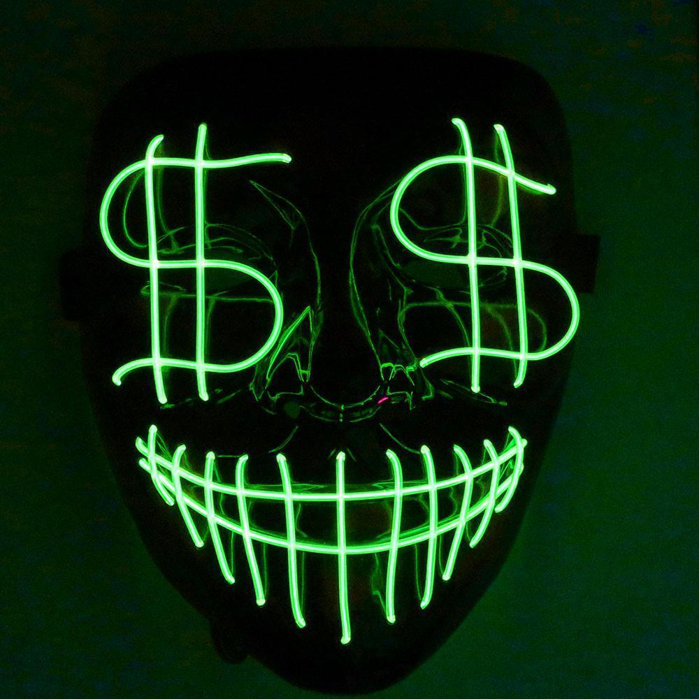 Cadılar Bayramı Tam Bar El Noel Gece Doları Grimace Led Hattı Kulübü Parti Cgjxs Dj Işık Işık Kapak Kanlı leadi Ubra Maske Maske Öncü