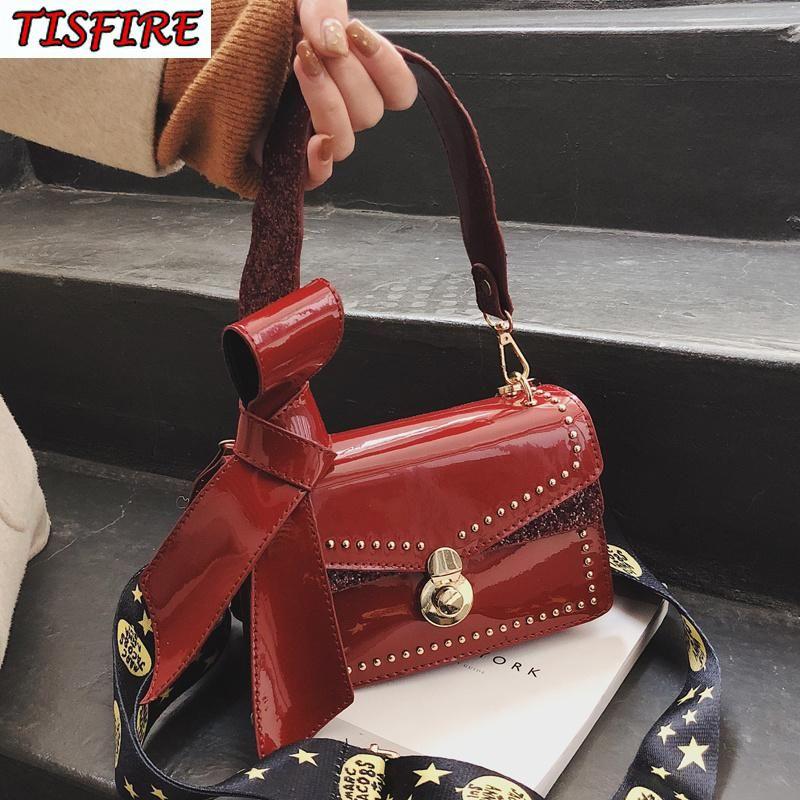 Le donne in vernice borse a spalla in pelle di moda Crossbody Bag estate Jelly designer borse bellezza femminile borsa di alta qualità Sac à main
