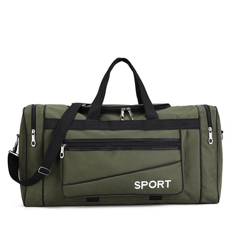 Oxford ocasional à prova d 'água para os sacos multi-bolso dos homens de viagem Saco de fim de semana Grande carregam a bagagem de viagem no saco masculino viagem OBKCP