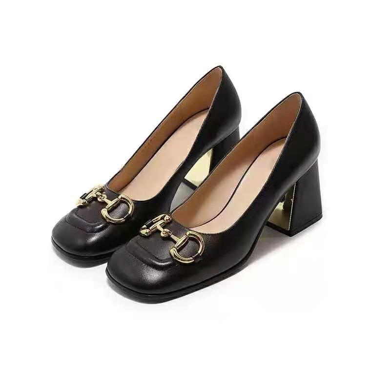 2021 mode eurotop style de luxe designer femmes talons hauts chaussures classiques mode haute talon chaussures cuir pointu pieds pointus pompes chaussures de robe