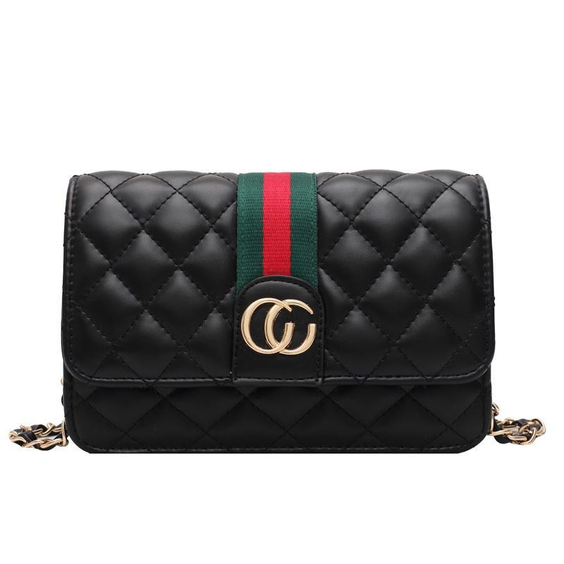 Mulheres Mulheres Corssboby Saco Inverno Moda Bolsas De Ombro Pu Material Handbag Senhoras Chain Handbags Designer Casual Carteira Q1220