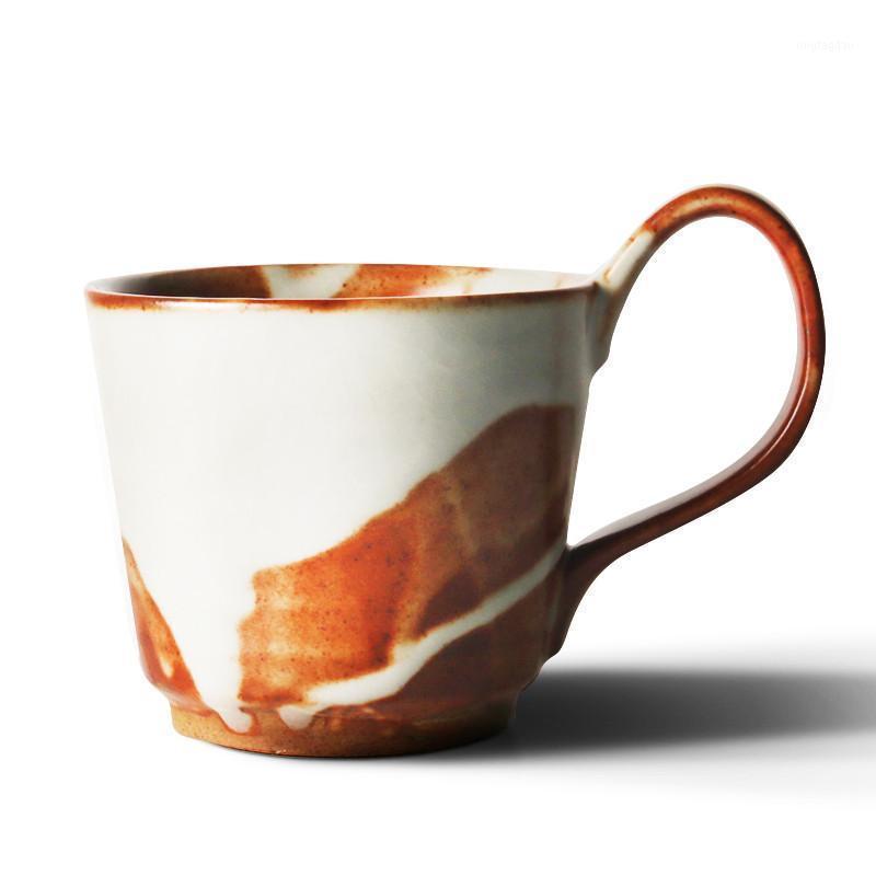 Кружки старинные крупные керамики кофейные кружка японский стиль блюдца установить дневную офис творческий дом DEAL1