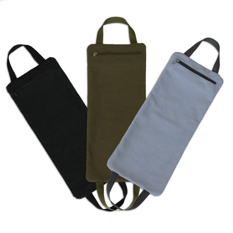 Pieghevole Yoga Riempito Sandbag con due maniglie per pesi di yoga e allenamento di resistenza Fashion Canvas Sandbags calibrati