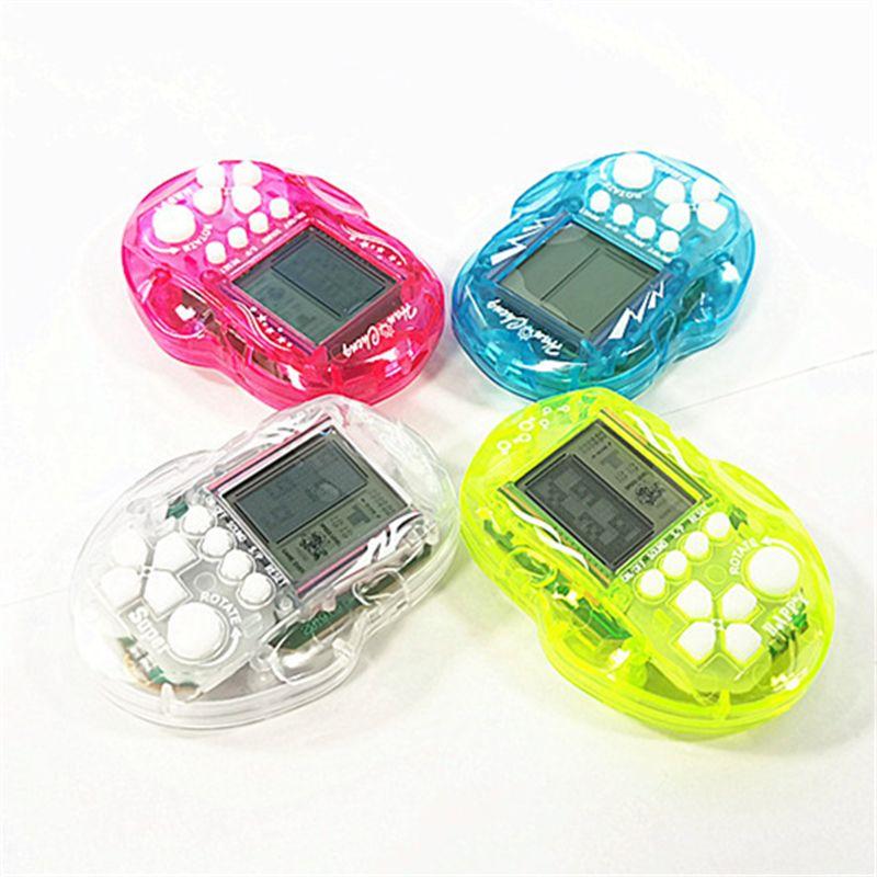 23 in 1 classico tetris mano nostalgic host games player lcd elettronico gioco console infanzia per bambini giocattoli regalo