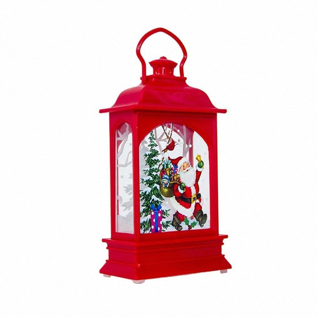 Luces de decoración de vacaciones Luces de atmósfera Luz de viento portátil Lámparas de bajo consumo Barra de luces creativas Z2V8 #