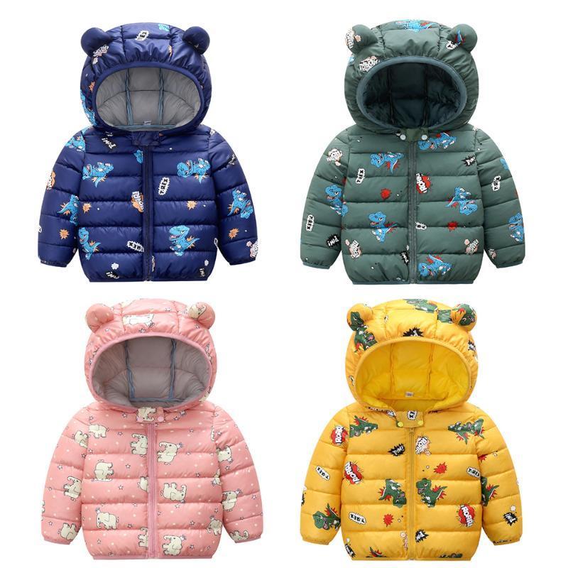 New Autunno Inverno Baby Girls Giacca per ragazzi Cartoon Stampa Cappotto Bambini Cappotto Cappotto Cappotto Cappotto Cappotto Bambini Giacche Bambini Bambino Vestiti