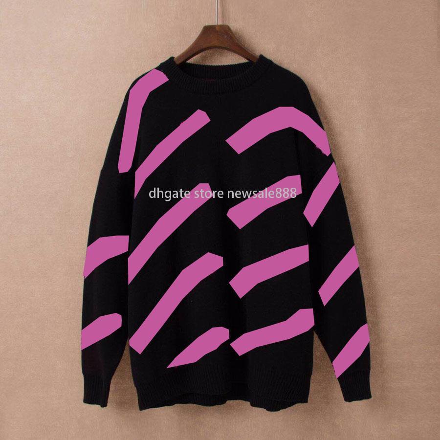 Осень зимние мужские женские свитера высочайшее качество мода с длинным рукавом письмо печатает пара мужчин свитера свободные пуловер дизайнеры свитер