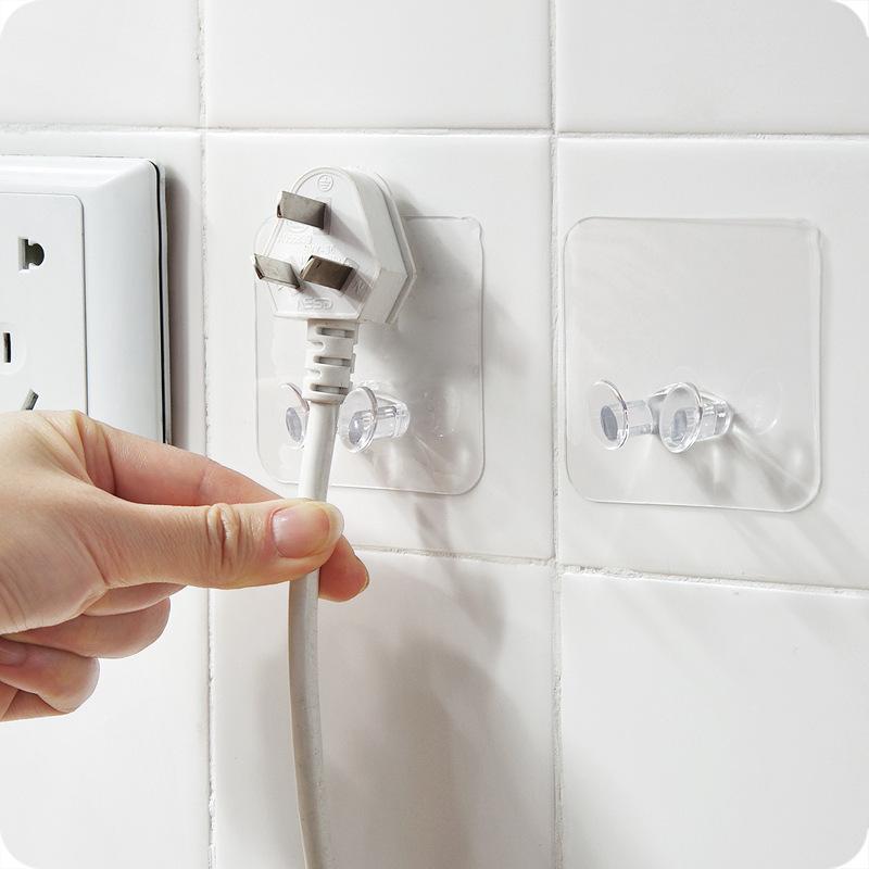 Steckerhaken Eine elektrische Appliance-Zulassungsanordnung Pylone transparente Paste Typ Netzkabel Sockelhaken Heißer Verkauf 0 22hs P1