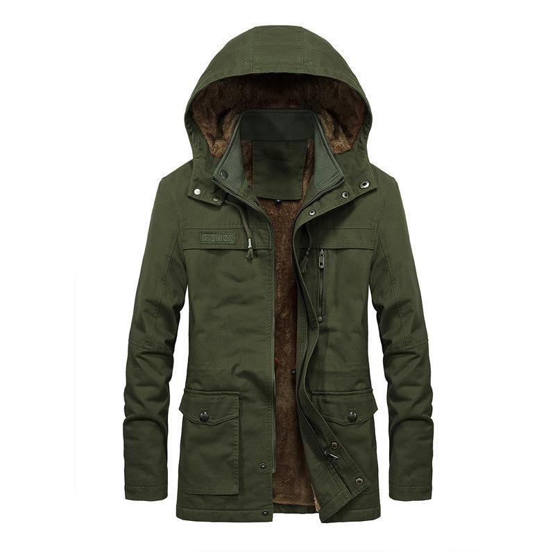 Зимняя ветровка толстая одежда пальто мужские куртки пальто женские шляпы плюс размер подходит ветрозащитный гомбер повседневный moowuc