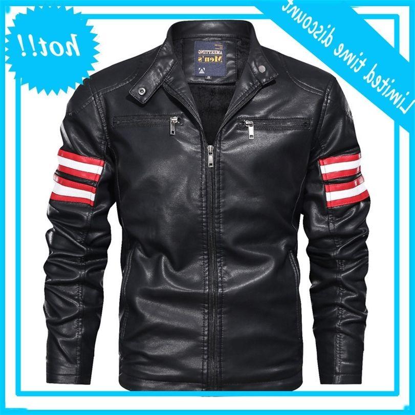 Vendita calda PU vestiti da uomo in pelle sottile in pelle moto in pelle moto coreana giacca coreana
