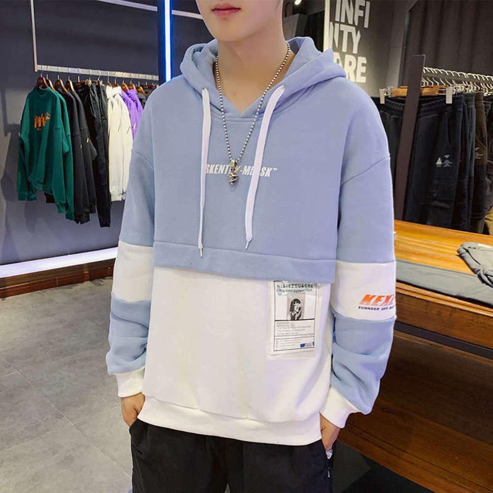 Casual Sportswear Fall 2020 New Fashion Top maschile da uomo con cappuccio sottile con cappuccio