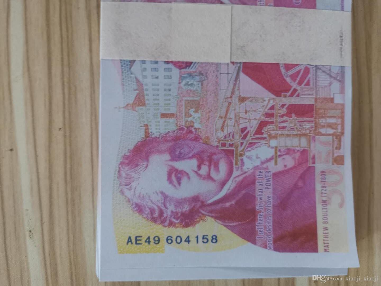 Stade réaliste dollar euro euros livres euro euro props accessoires livrine adulte la plupart des accessoires film de film jouets jeux argent jeu argent fhgm