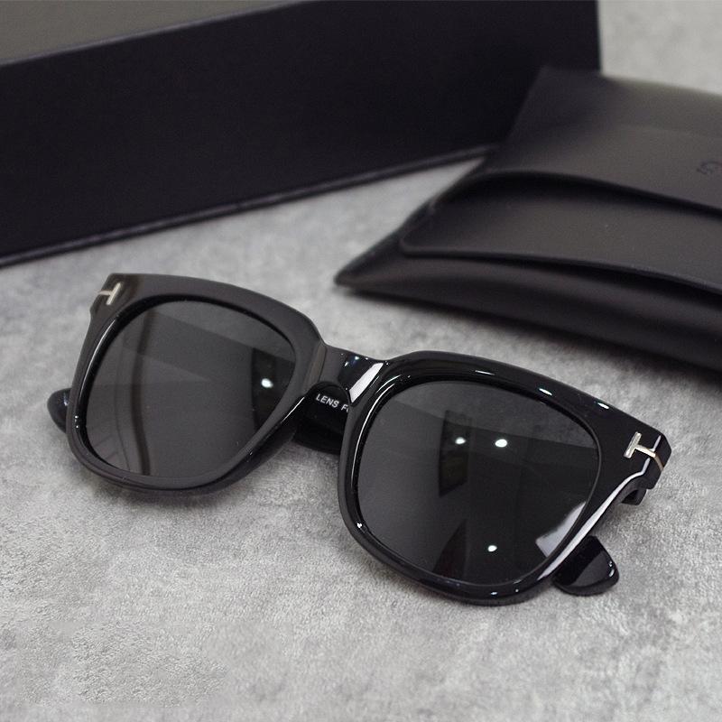 2021 Yeni Lüks En Kaliteli Yeni Moda 0699 211 Tom Güneş Gözlüğü Adam Kadın Erkek Için Erika Gözlük Ford Tasarımcı Marka Güneş Gözlükleri Büyük Kutu