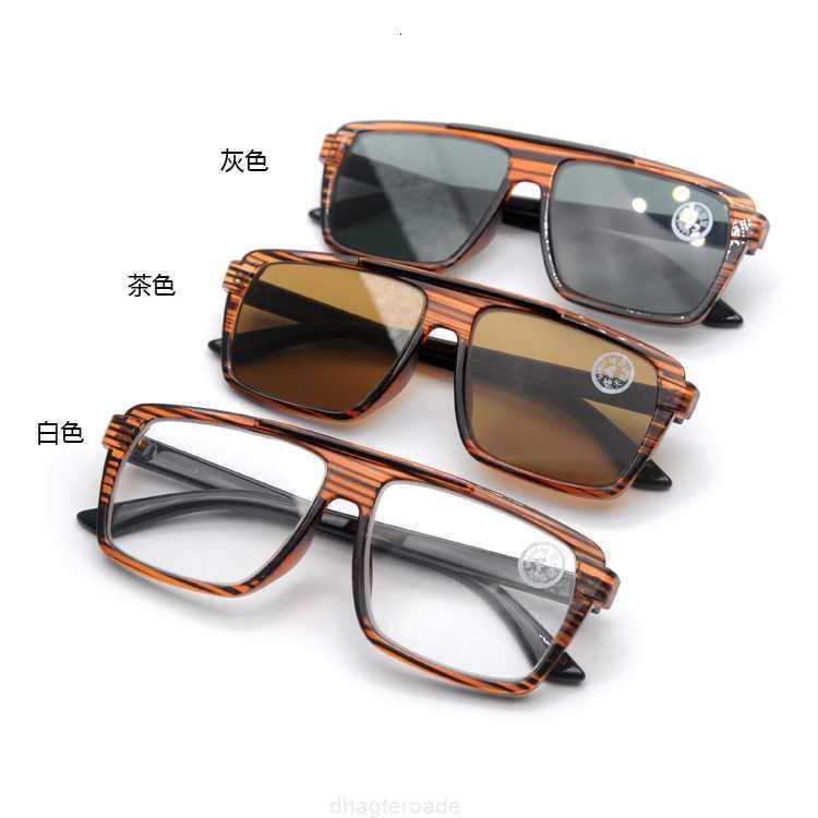 Cristal de moda de moda de moda y gafas de sol de moda.