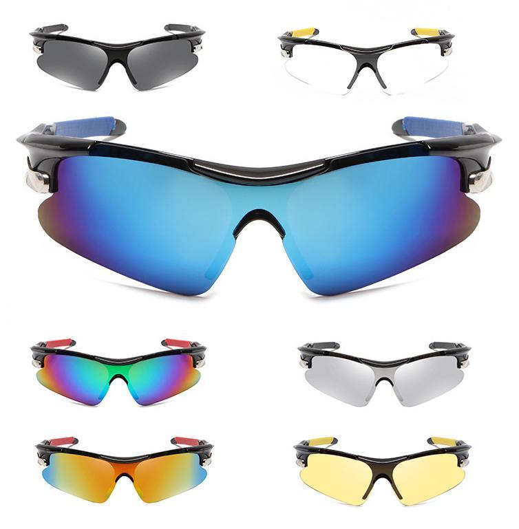 2021 디자이너 코팅 패션 승마 선글라스 여성 남성 야외 스포츠 태양 안경 사이클링 아이웨어 자전거 선글래스