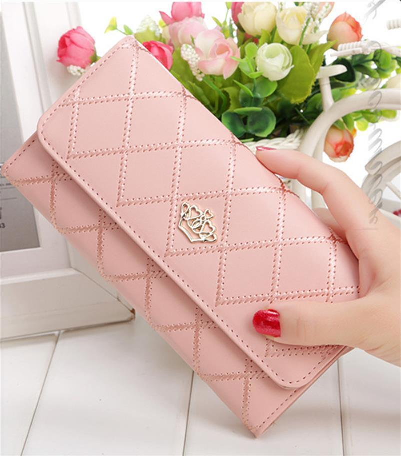 Hot Sale Women Wallets Purses Fashion Long Wallets For Girl Ladies Money Coin Pocket Card Holder Female Wallets Phone Clutch Bags