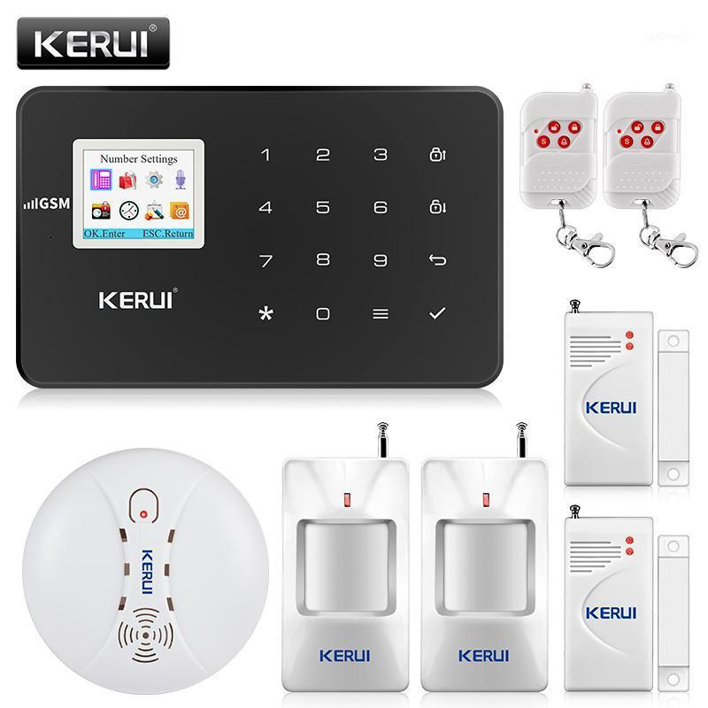 Kerui Anti-Theft Alarm System wireless Home WiFi GSM Security System System Kit Controllo app con Dial Motion Detector1