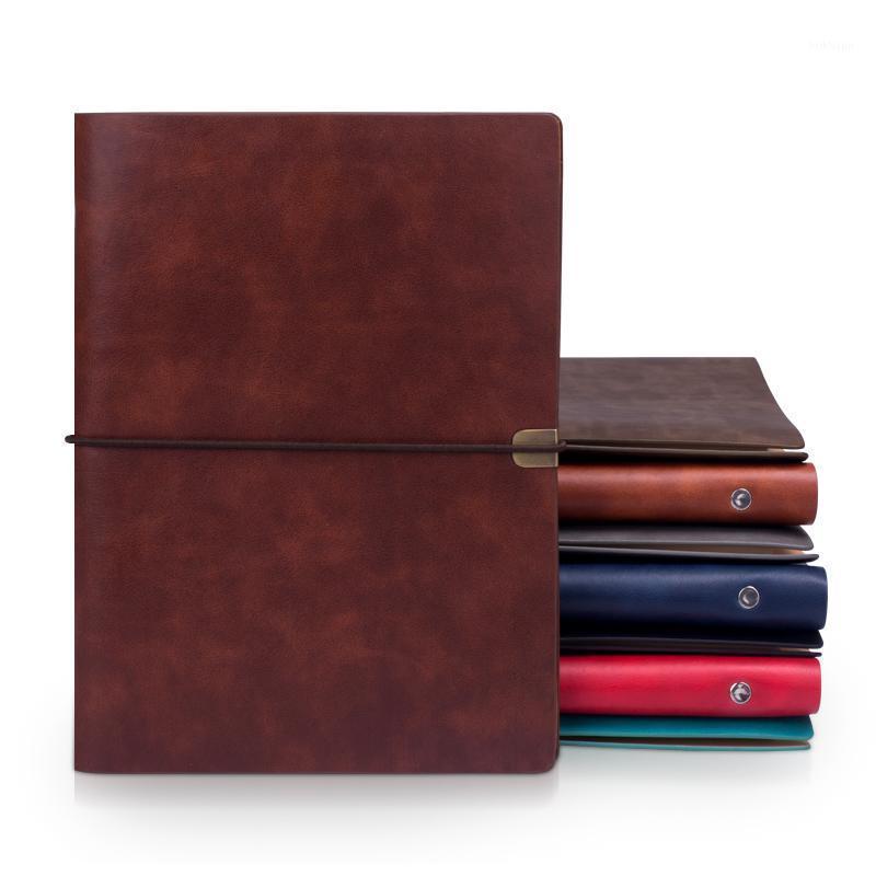 Ruize خمر B5 دفتر غطاء السفر مجلة يوميات A5 الجلود دوامة دفتر مخطط 6 حلقة الموثق ملاحظة كتاب جدول الأعمال 20201