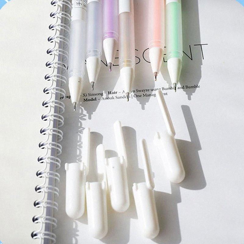 Aquarela Pen Set Escova de carta Produtos Pintura Suprimentos Art Marcador Canetas Desenhando Caligrafia Desenho fontes de escola atoV #