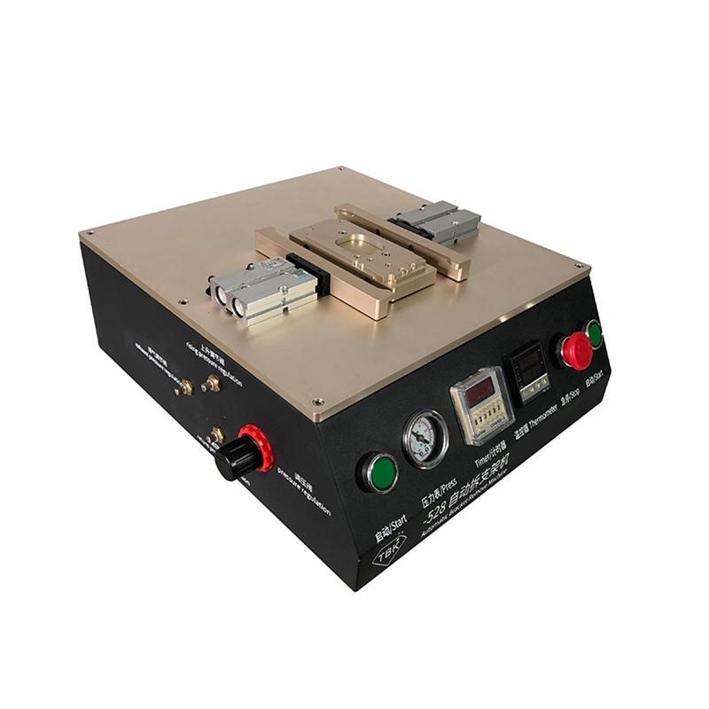 Yüksek Kalite LY TBK-528 Otomatik Cam Mobil Arka Kapak Ayrı Cam Arka Kapak Dahili Hava Kompresörü Için Ayırma Makinesi