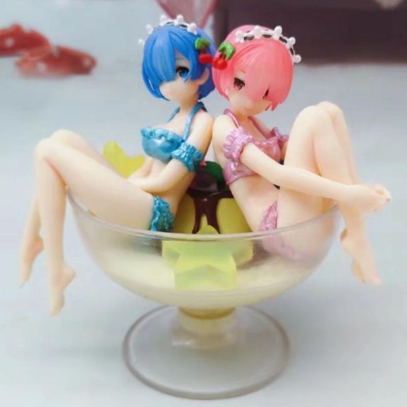 Anime Life в другом мировом действии Рисунок Мультфильм PVC Acton Рисунок RAM Model Toys Коллекционные модельные игрушки Детские подарки X0121