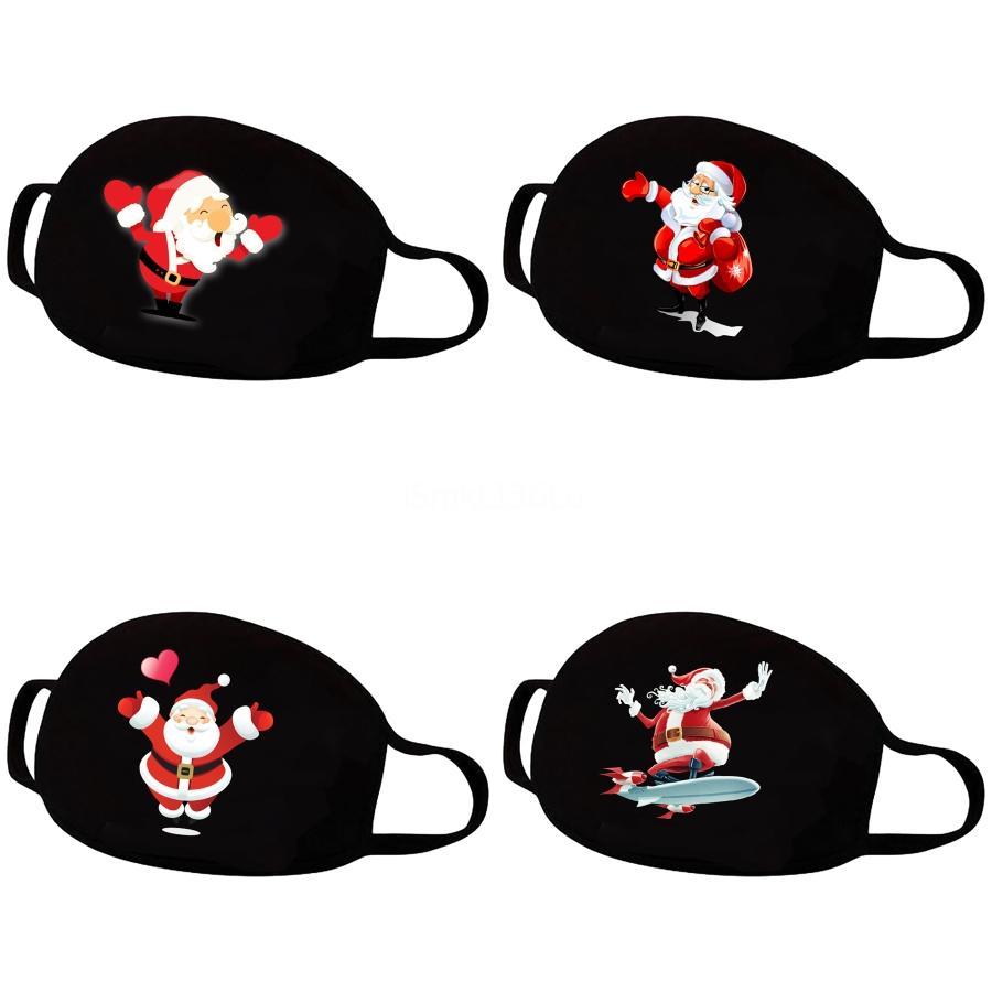 Red Face MaskCartoon Drucken Cubrebocas Con Visor UV Proof Waschbar Laufreitfahrrad Prective Maske # 896