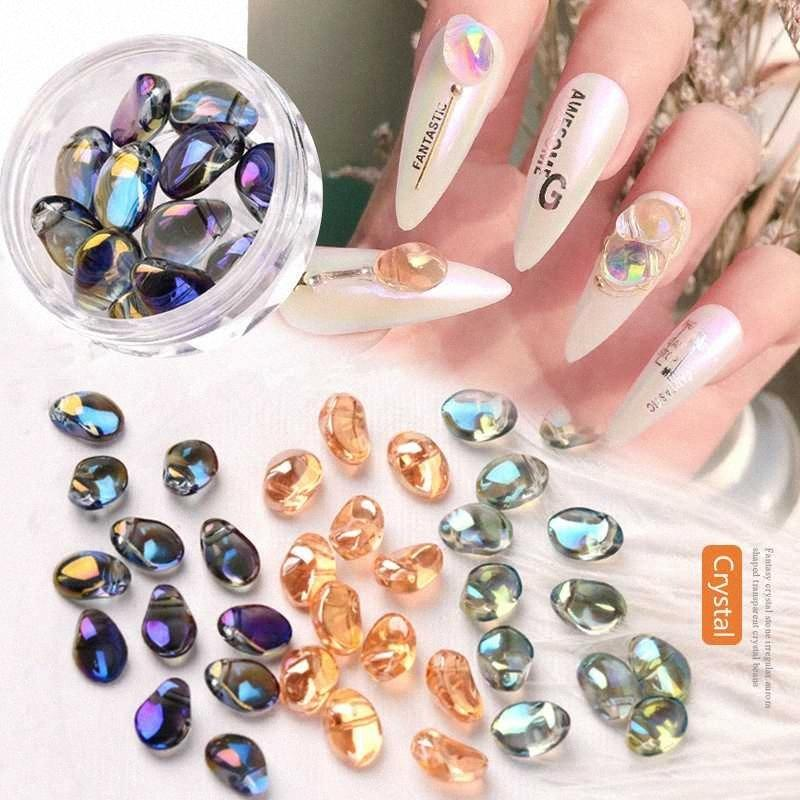 Prego 20pcs brilhante pedras de cristal 3D Art Detalhes no Aurora Jóias DIY Moda Enfeites Manicure projeto Acessórios B4Lm #