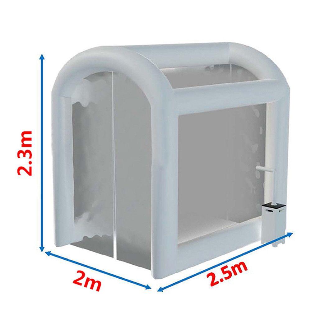 تخصيص PVC نفخ التطهير خيمة في الهواء الطلق المؤقتة النفق الطبي المؤقت نفق المنزل للمطالبة تعقيم رذاذ الطوارئ