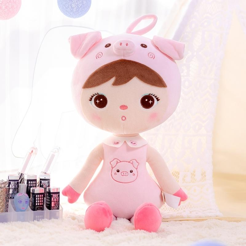 Peluş Oyuncaklar Metoo X Gloveleya Yeni Tasarım Bebekler Çocuklar Için Sevimli Domuz Oyuncak Doğum Günü Yılbaşı Hediyeleri Çocuklar Bebek Bebek Y200111