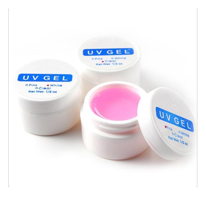 3 Renkler UV Jel Tırnak Uzatma Renkli Jeller Çivi Yeleledi UV Jel Oluşturucu Nail Art İpuçları Polonya Jllzes