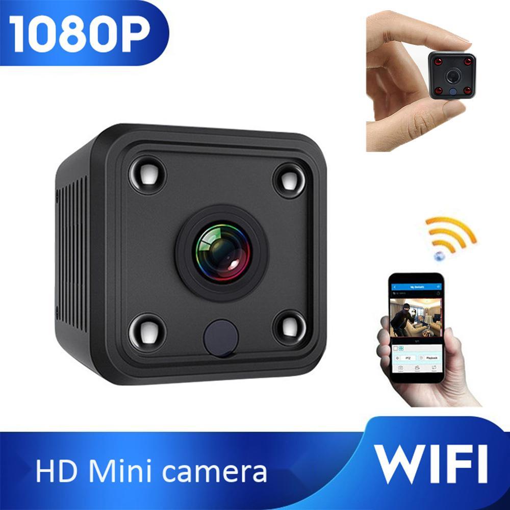 Mini WIFI IP 1080 P Açık Gizli Mikro Video Kaydedici HD Kablosuz Güvenlik Gözetim Kamera LJ201209