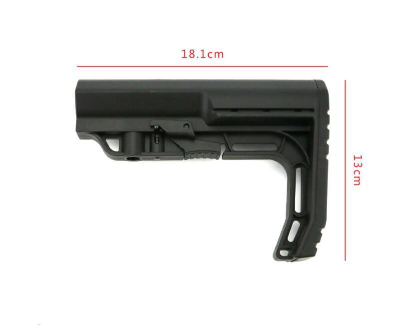 전술 장난감 액세서리 네오프렌 뺨 패드 미니멀리스트 미션 전술 나일론 주식 MFT 시리즈 주식 다양한 두께 사용 가능
