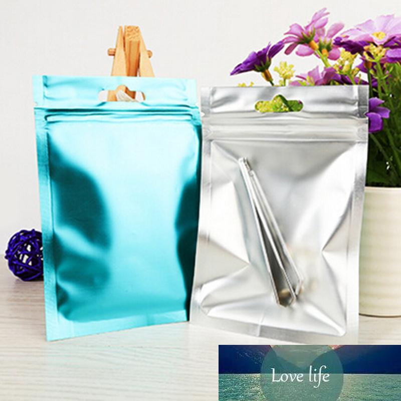 La feuille alimentaire Packag Sac thermoscellage en feuille d'aluminium BagsFood 9 e année * 15cm 4 couleurs